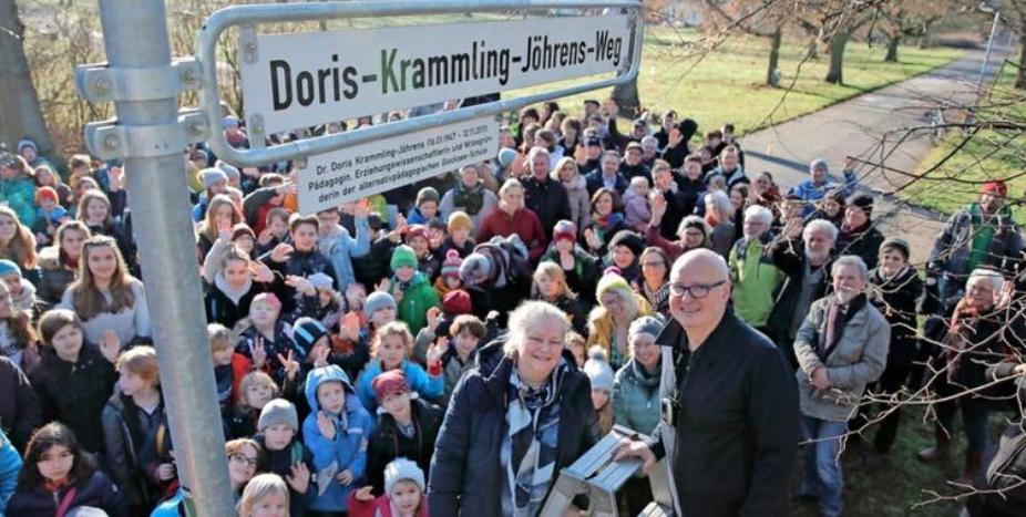 Eingeweiht: Der Doris-Krammling-Jöhrens-Weg